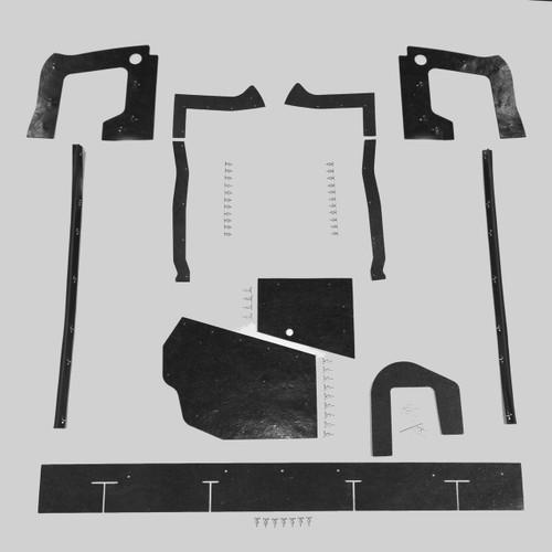 Mopar B Body 67 Belvedere Satellite MEGA Splash Shields Set -Auto