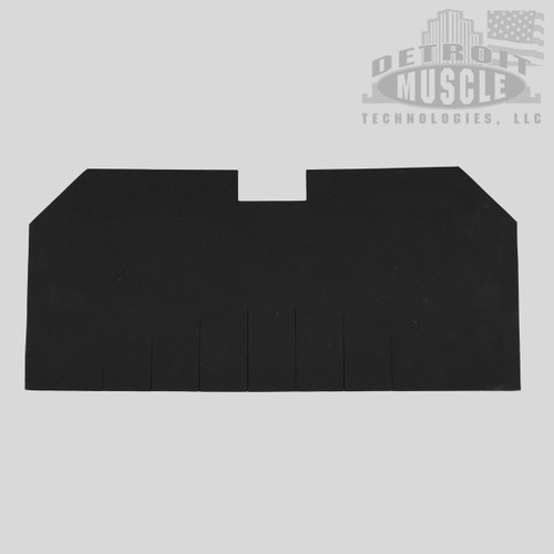 "Mopar B Body 66-67 Belvedere. Charger, Coronet Fuel Gas Tank Pad Insulation - .250"" Foam Rubber"