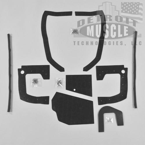 Mopar B Body 70 Charger MEGA Splash Shield Set -Auto