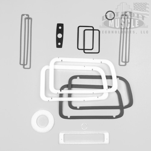 Mopar E Body 1970 70 Barracuda Paint Exterior Gasket Set BASIC