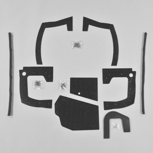 Mopar B Body 68 69 Charger MEGA Splash Shield Set -Auto