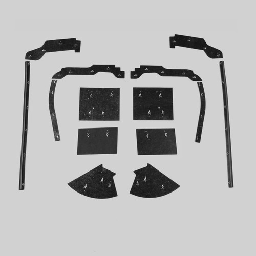 Mopar B Body 63 Belvedere Fury Savoy MEGA Splash Shield Set -Manual