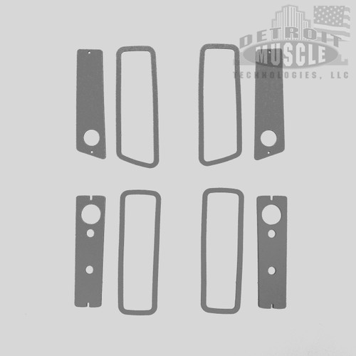 Mopar B Body 70 Charger, Coronet Side Marker Light Gaskets