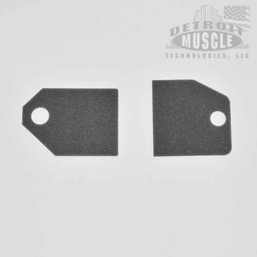 Mopar A Body 67-72 Fresh Air Vent Door Foams (pair)