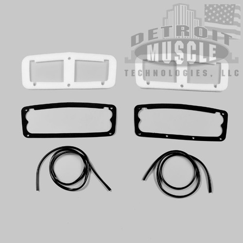 Mopar B Body 64 Belvedere, Fury, Savoy Taillight Gaskets -WITH TRIM