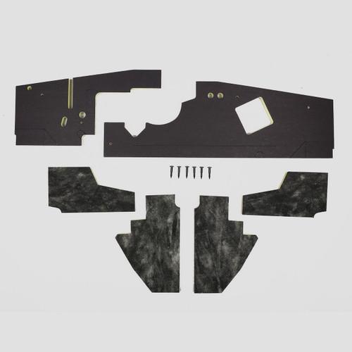 Mopar A Body 63 64 NON AC Firewall & Kickpanel Insulation
