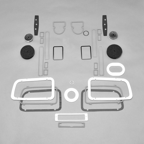Mopar E Body 71 Barracuda Paint Exterior Gasket Set