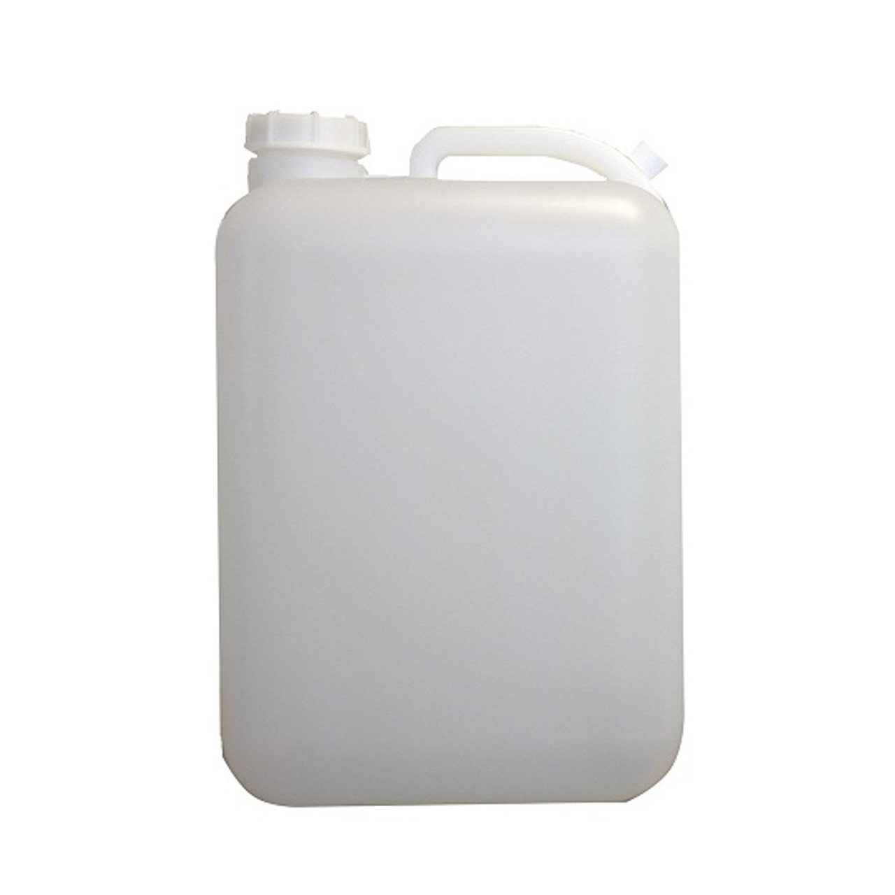 5 Gal Natural Hdpe Plastic Carboy W White Cap Berlin