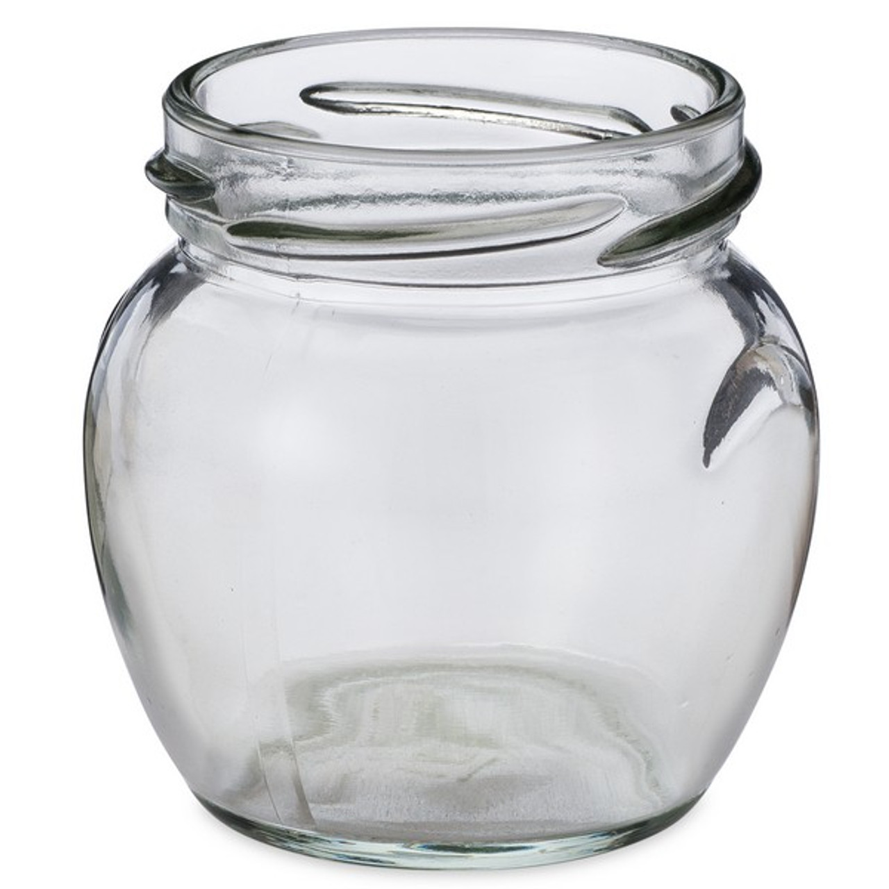 3 oz clear glass honey pot jars cap not included berlin. Black Bedroom Furniture Sets. Home Design Ideas