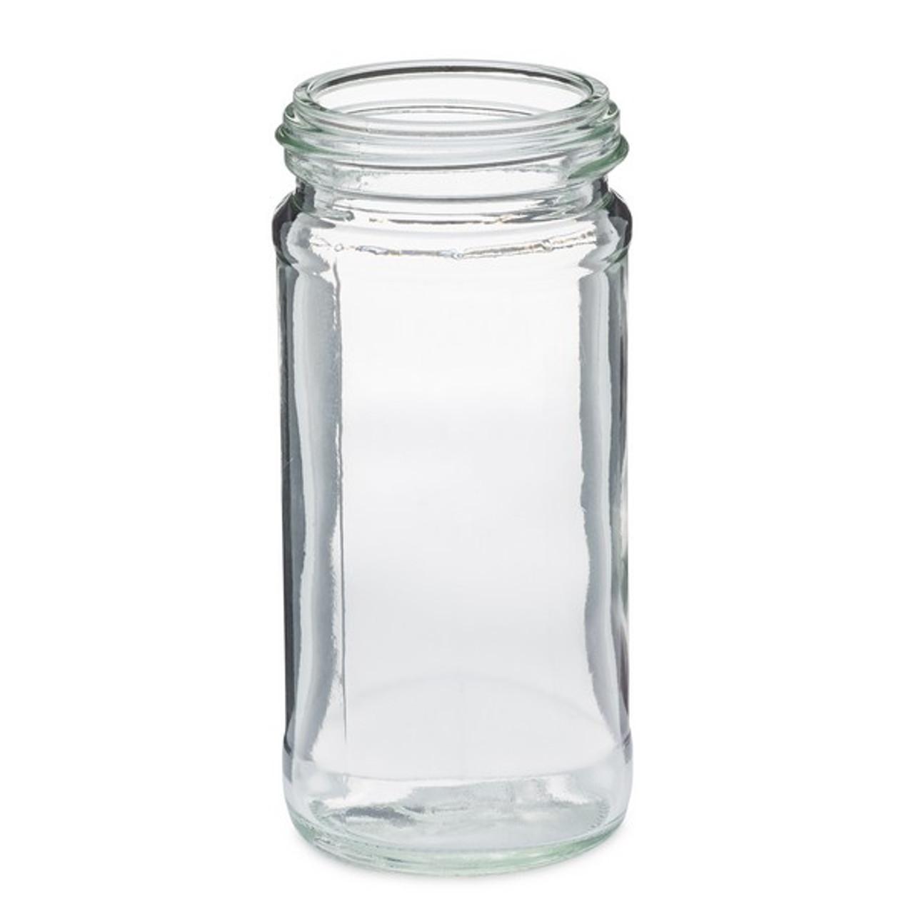glass paragon spice jar