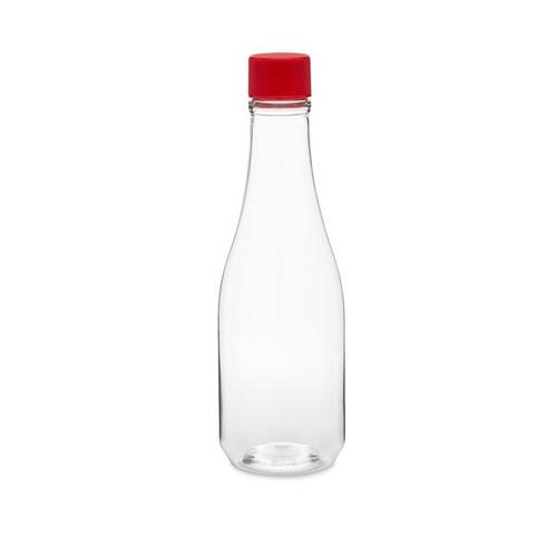 clear pet plastic hot sauce bottles with cap