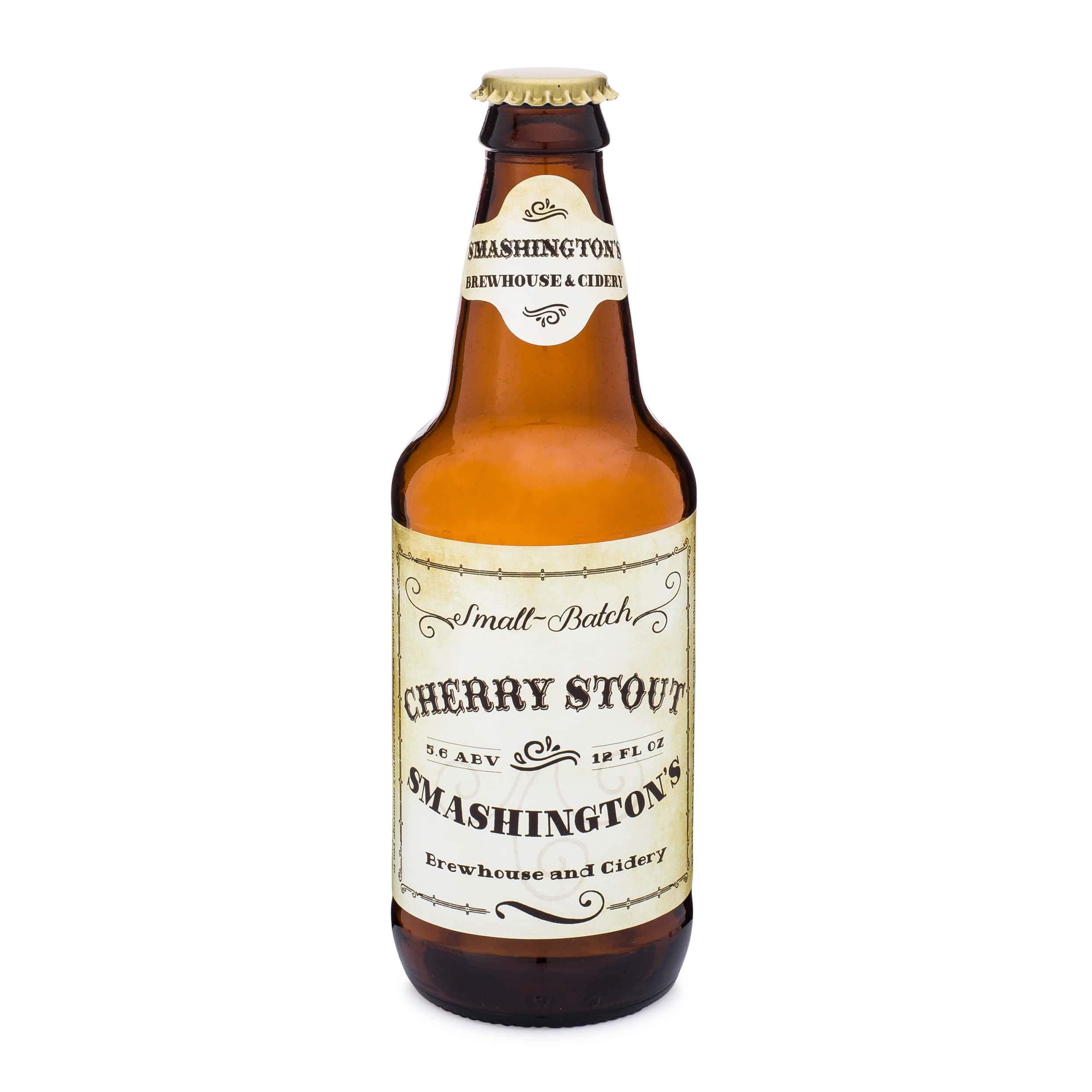 Heritage Beer Bottle with sample label