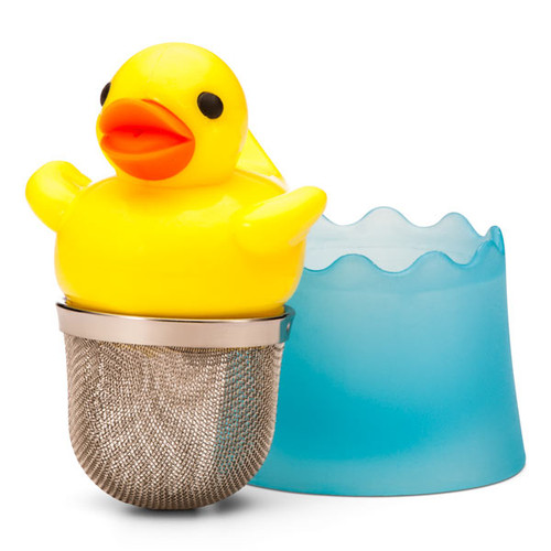 Rubber Ducky Tea Diffuser | Ducks in the Window