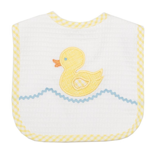 Yellow Duck Feeding Bib by 3 Marthas | Ducks in the Window®