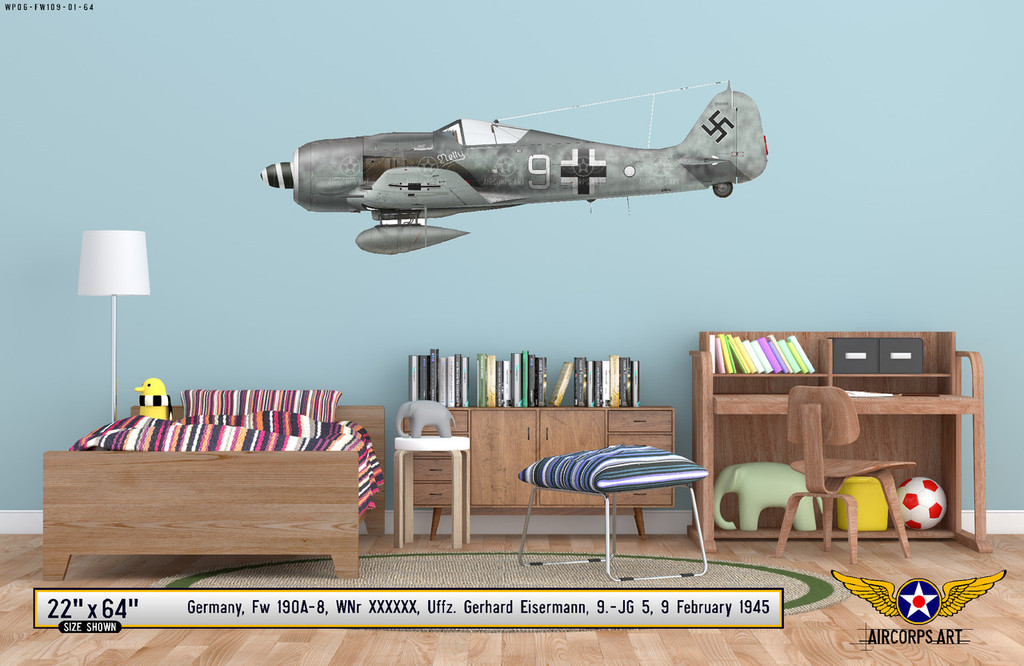 Fw 190A-8 Decorative Vinyl Decal