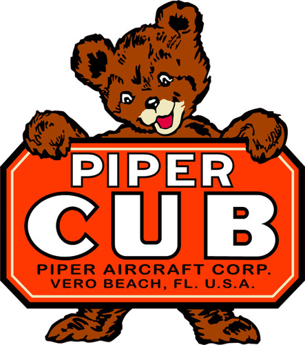 Piper Cub Decal