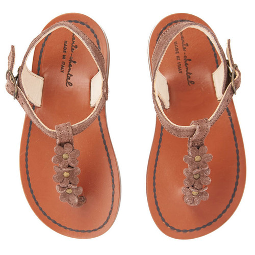 9b1720ca33cf BROWN FLOWER SANDALS