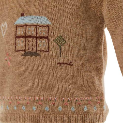 639ba281159b Cashmere Sweater - House motif