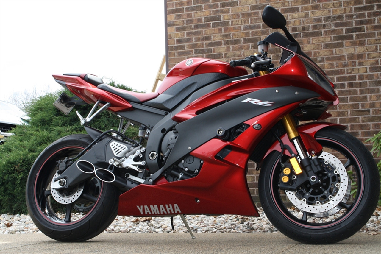 Yamaha R6 Moto Gp Styled Slip On By Toce Performance Featuring It's Double Down Exhaust: Best R6 Exhaust At Woreks.co