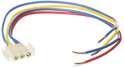 Suburban Furnace Power Supply Wire Harness 520322 (3 pin female)