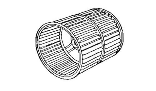 Furnace Blower Wheel; For Suburban Furnace SH-35/ SH-42/ SH-35F/ SH-42F
