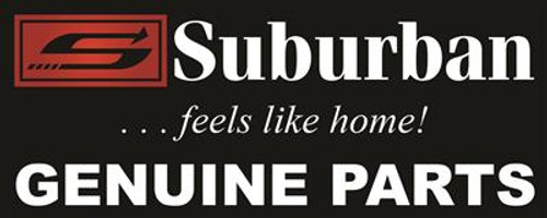 Furnace Combustion Air Housing; Air Intake Box; For Suburban SF-Series Furnace; Black
