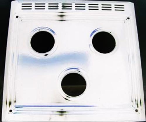 Stove Top; Replacement Slide In Top For Suburban 3 Burner Ranges SR3/ SC3/ SRN3/ SRNA3/ SCN3 and SCNA3; White