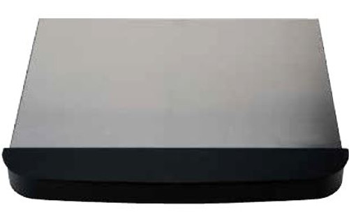 Stove Top Cover; For Suburban Two Burner Cooktop SDN2; Silver; Steel; With Side Wind Guards