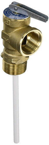Water Heater Pressure Relief Valve; For Suburban All SW And V Series; 3/4 Inch Male NPT