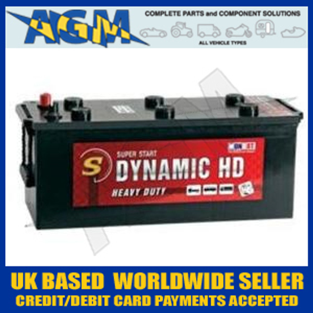 MONBAT D627 Dynamic HD Battery 125AH 900A EN IVECO DAF SCANIA