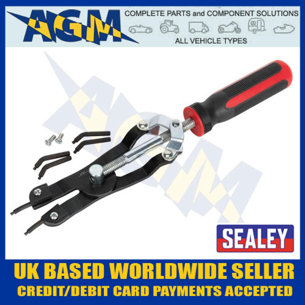 sealey, ak8450, circlip, pliers, heavy, duty, professional