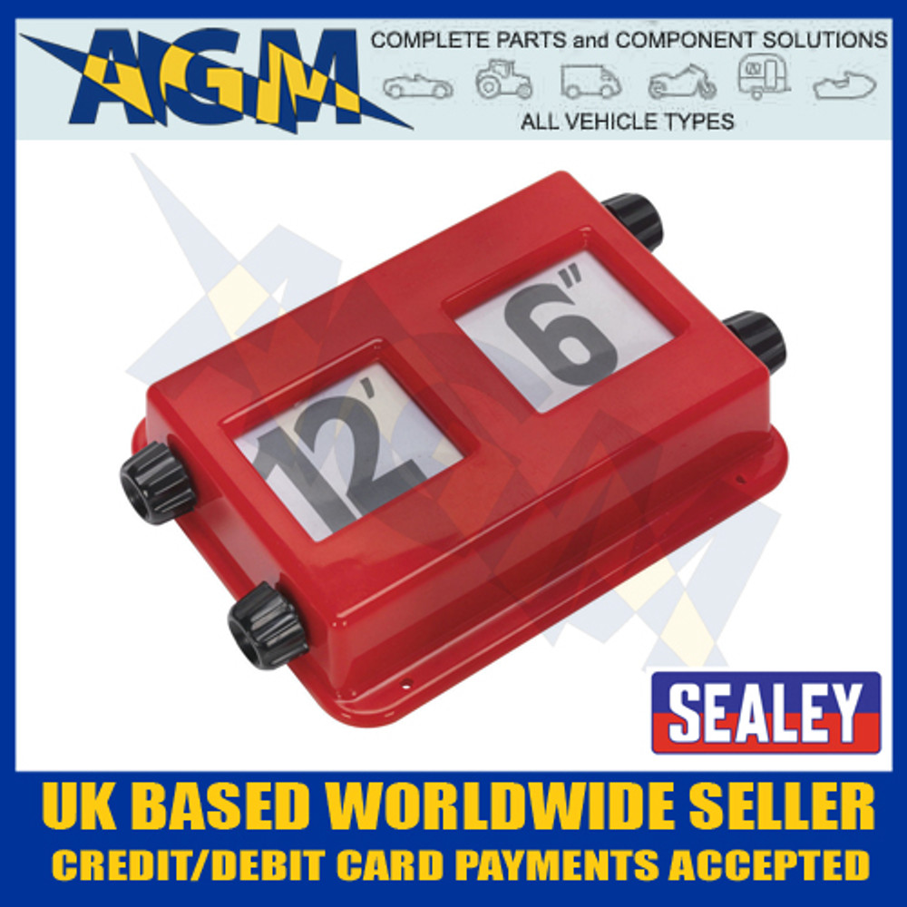 sealey, cv032, height, indicator, display