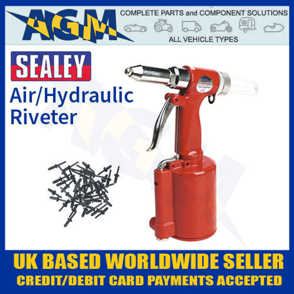 SA31 Sealey Air/Hydraulic Riveter - Air Tool