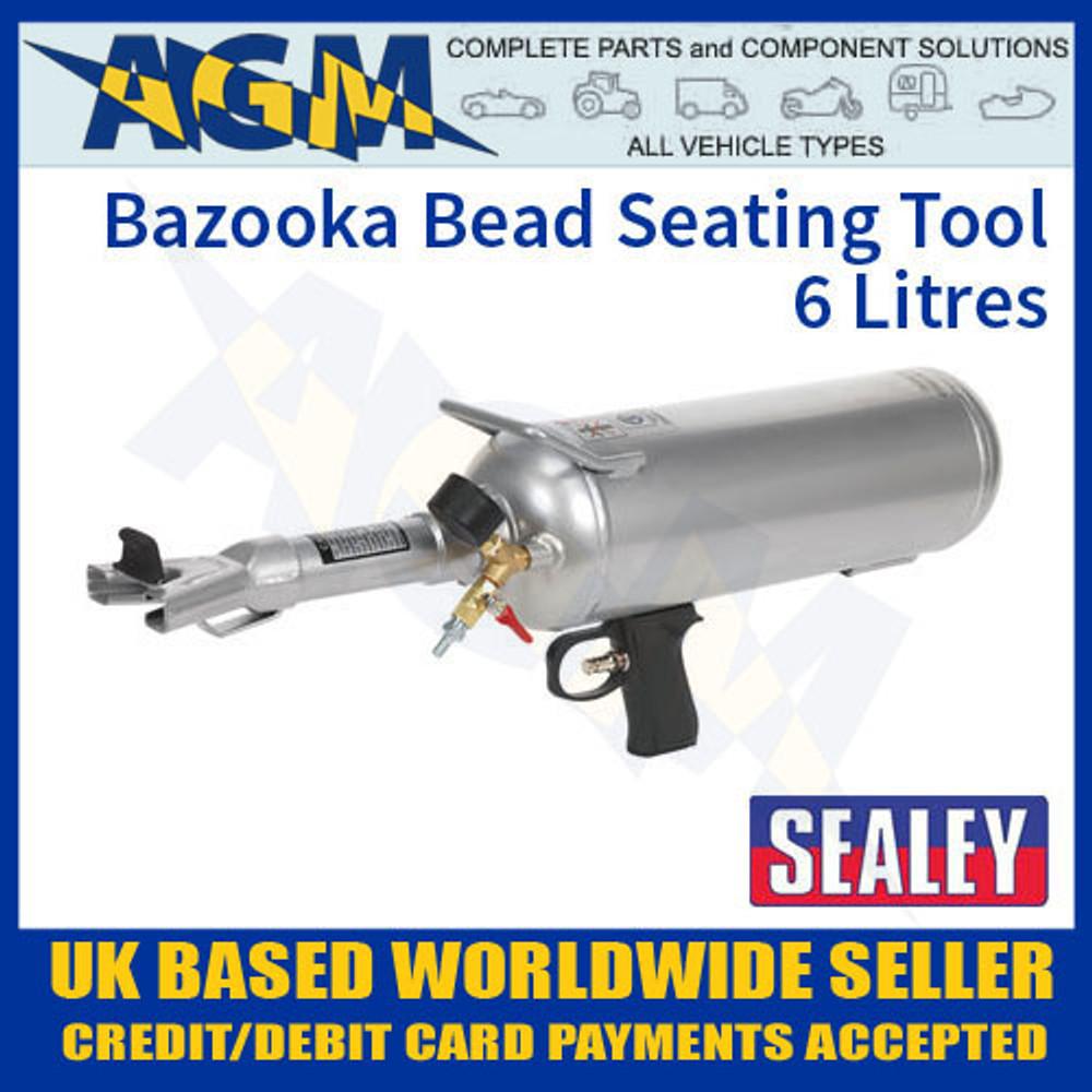 TC903 Sealey Bazooka Bead Seating Tool 6 Litre