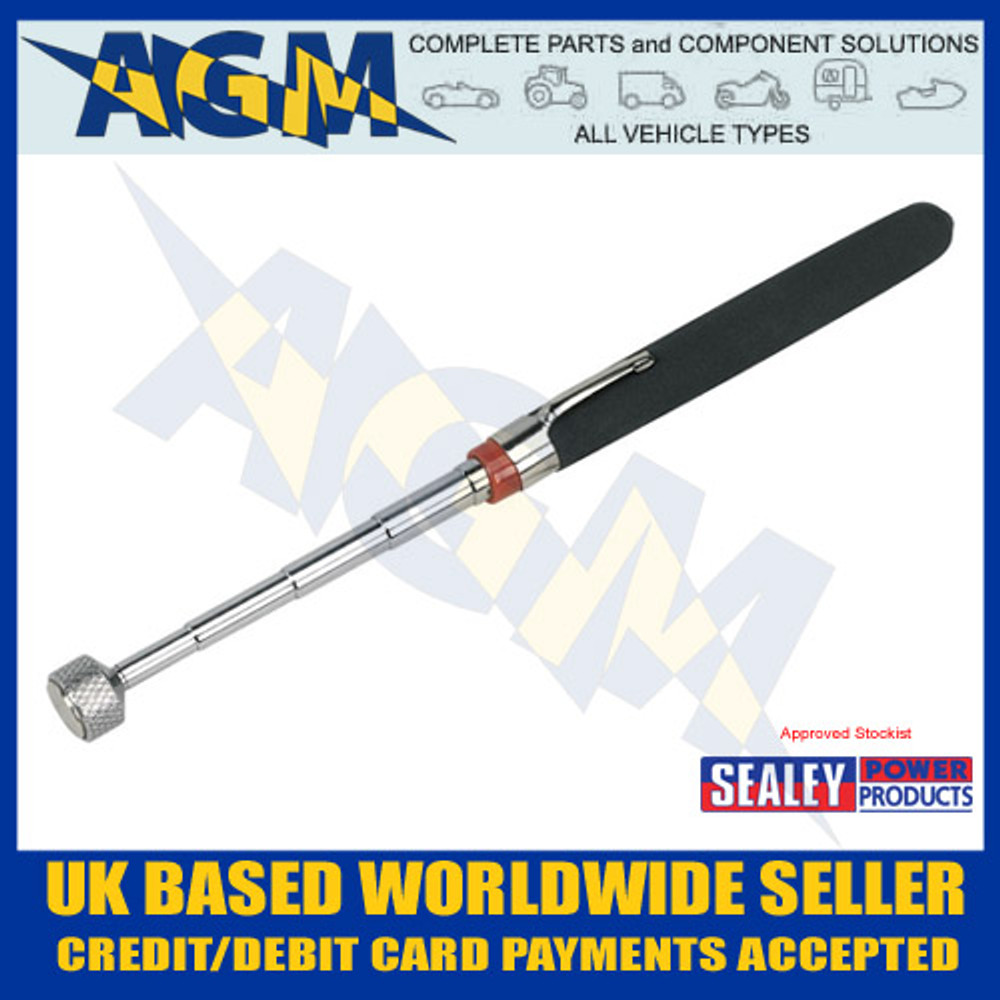 S0823, Sealey, Heavy-Duty, Magnetic, Pick-Up, Tool, 3.6kg Capacity, Siegen, Workshop, Garage