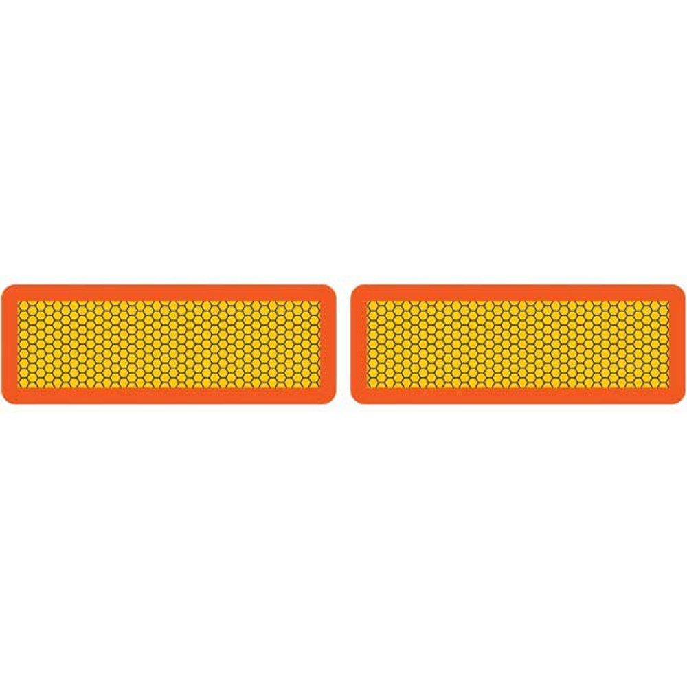 Pair of A1044 ECE 70 Marker Boards 565mm x 195mm
