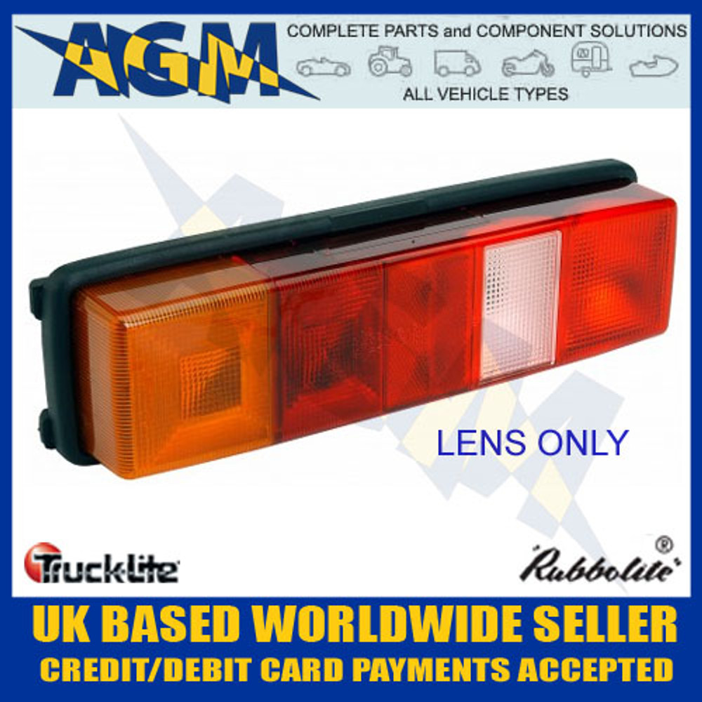 trucklite, rubbolite, 4936, left, lens, trucks, vans, lorries, commercial