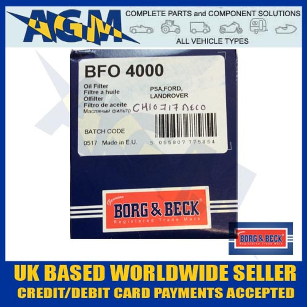 borg, beck, bfo4000, oil, fIlter, focus, 2011