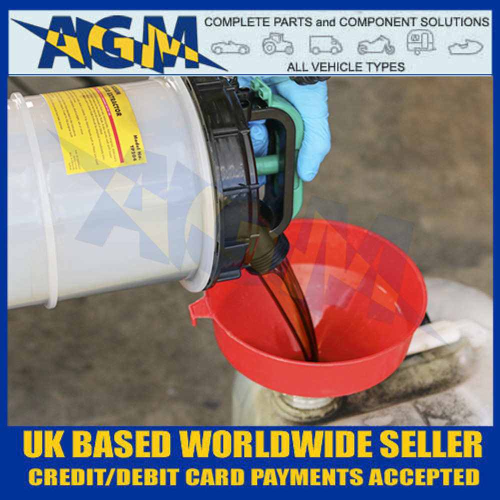 Sealey TP204 8 Litre Capacity Vacuum Oil/Fuel/Fluid Extractor - Removing Waste Oil