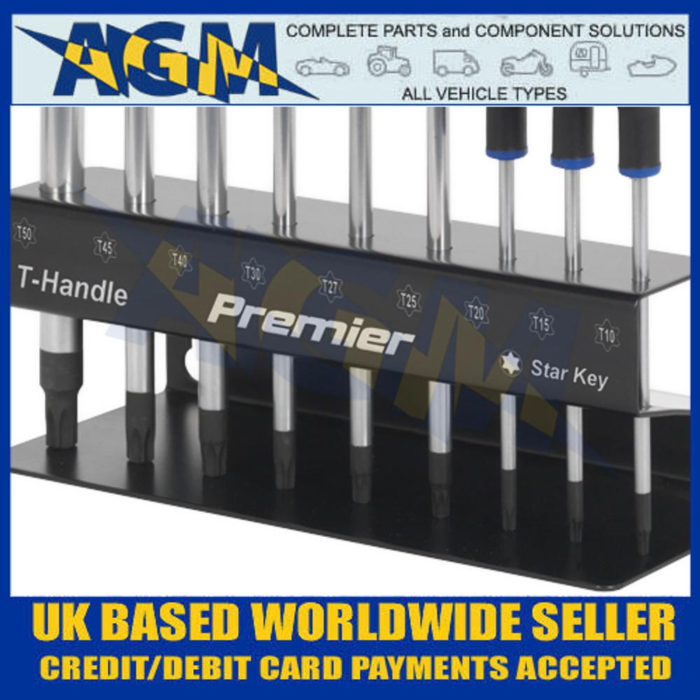 Sealey AK7196 TRX-Star* Key Set, T-Handle - Close Up