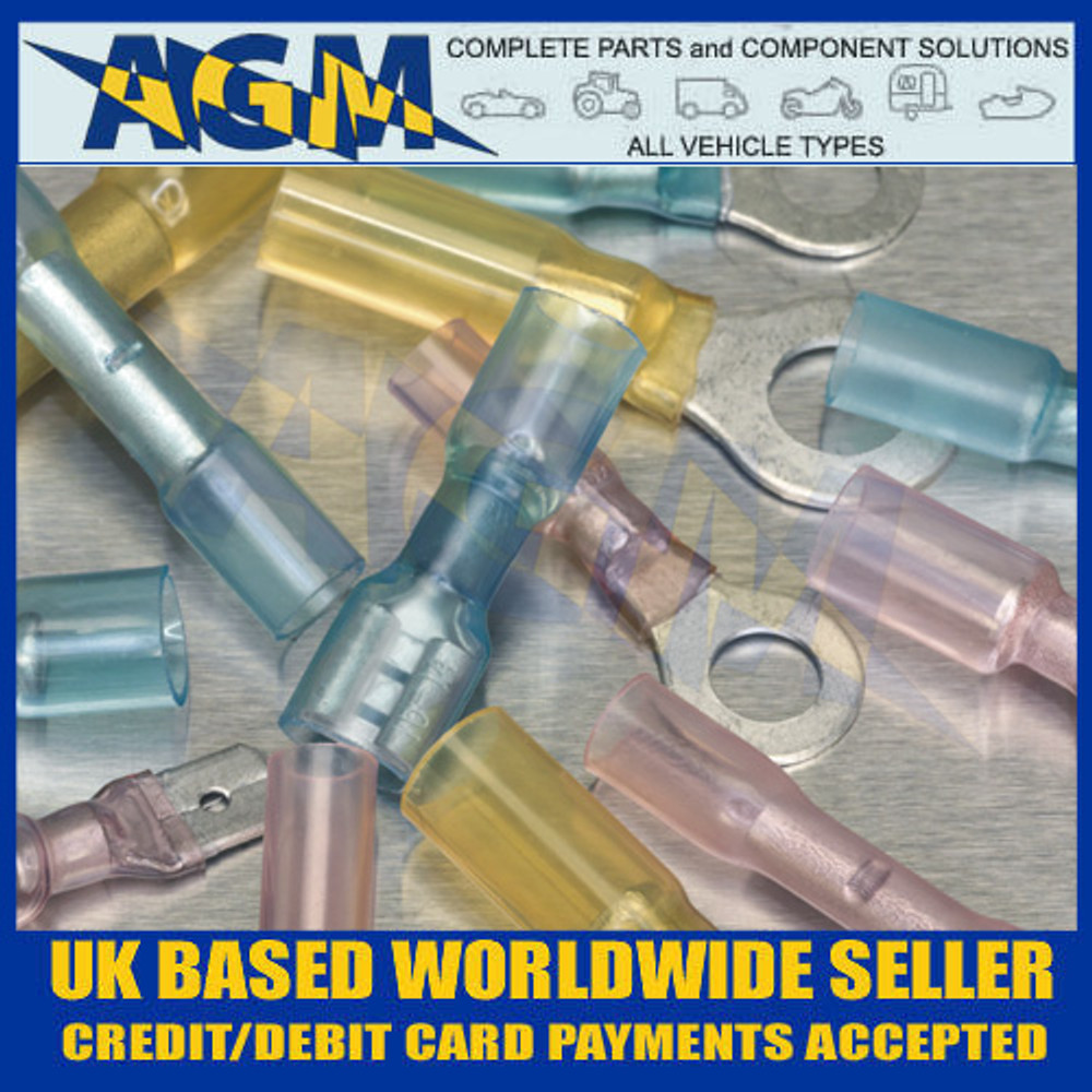Sealey AB037HT Adhesive Lined Heat Shrink Terminals