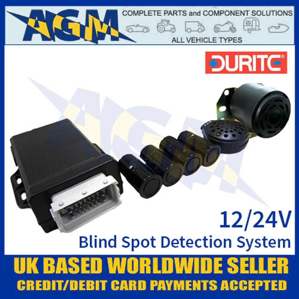 0-870-10 Durite 12/24V Ultrasonic Blind Spot Detection System