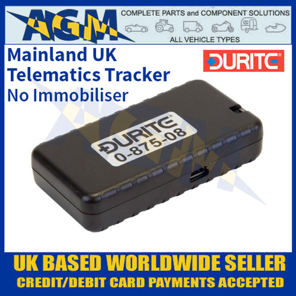 0-875-08 Durite Mainland-UK Telematics Tracker without Immobiliser