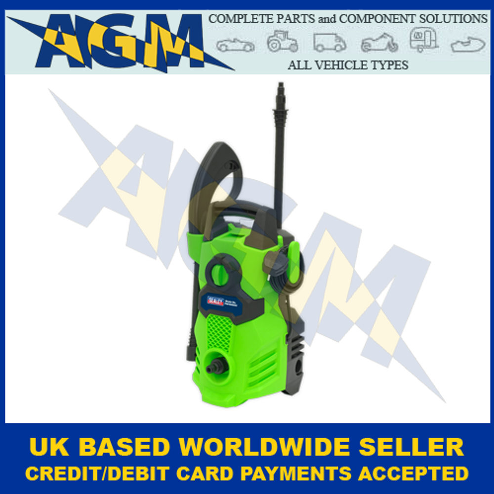 Sealey PW1500HV, High Vis, Green Pressure Washer, With TSS, 230v