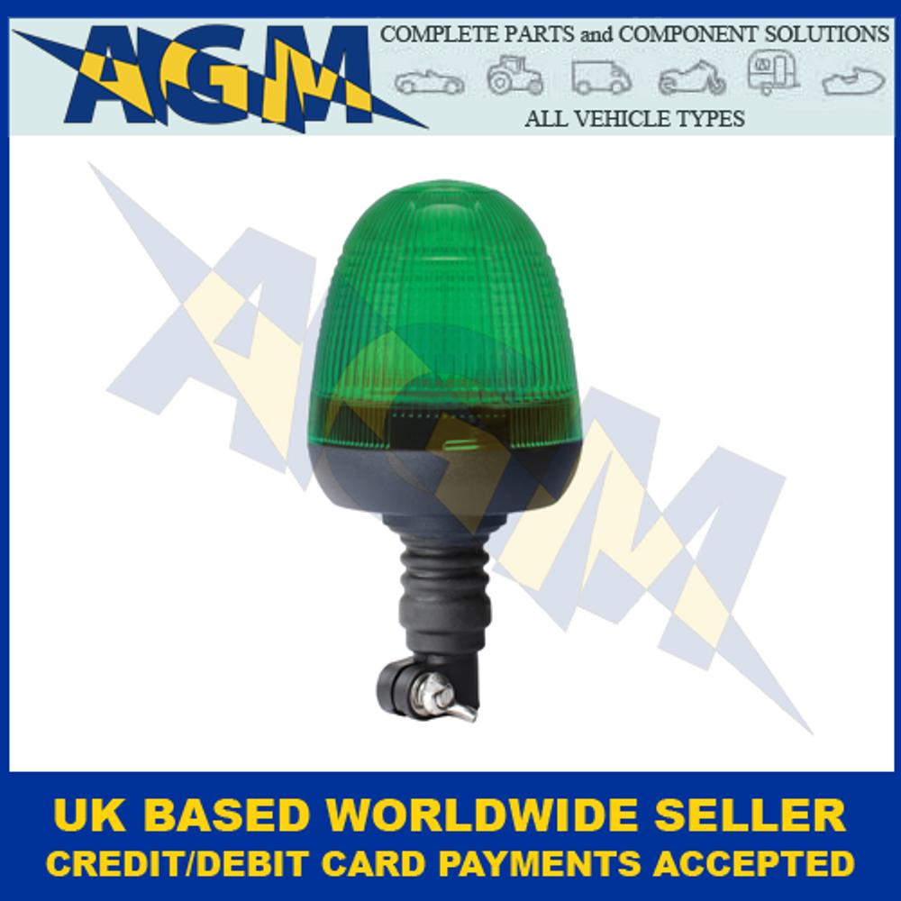 Guardian AMB77G, LED Green Beacon, Spigot Mount, 12/24v