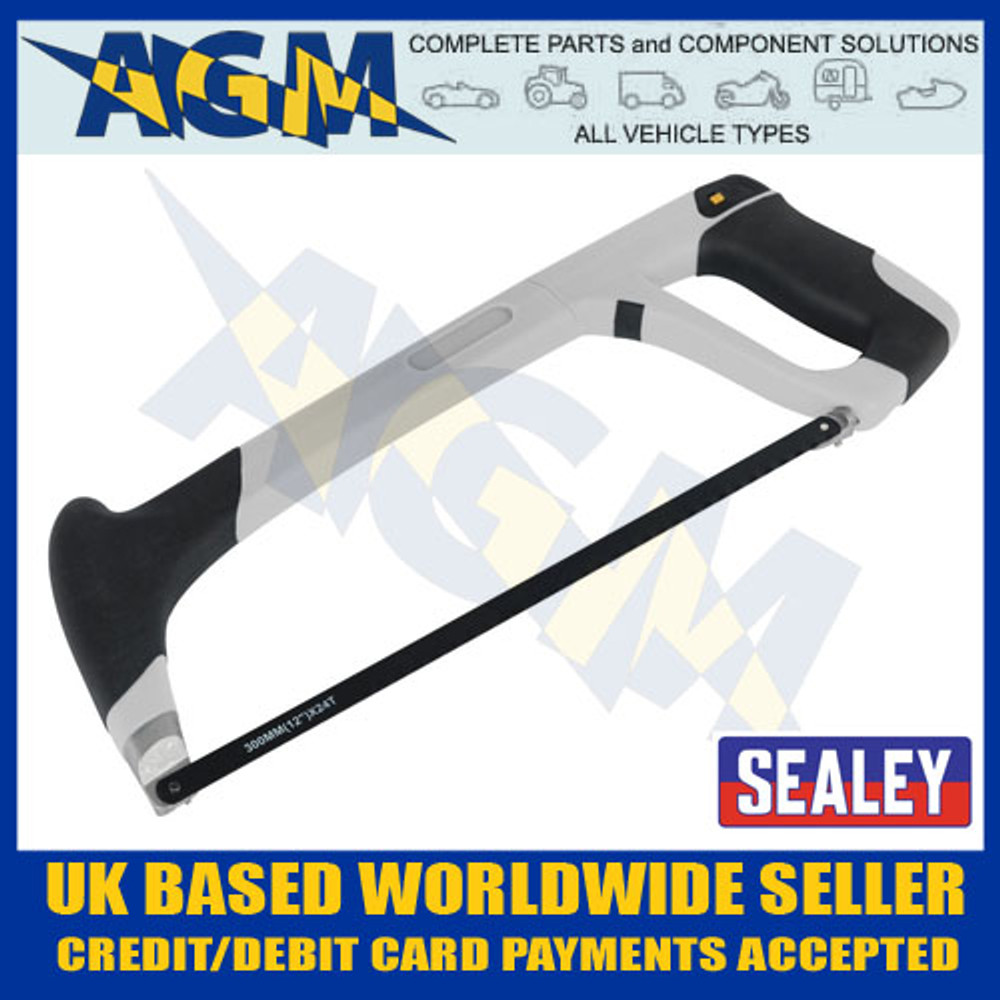 SEALEY AK8685 Professional Hacksaw Adjustable Angle Blade 300mm