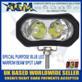 Led Autolamps 92B6BM Blue Purpose Special LED Spot Lamp