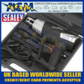 Sealey HS103K Hot Air Gun Kit 2-Step 2-Speed - Accessories and Case Included