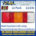 LED Autolamps 250WARM LED Rear Multi Function Lamp 12/24v