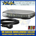 Led Auto-Lamps MLB246R10AMB-VM Magnetic Led Microbar, Super Low Profile, 12/24v
